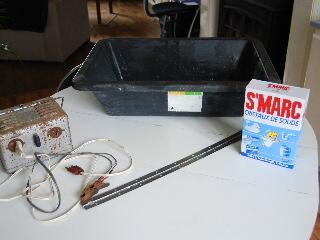 Nettoyage par électrolyse SSC-0440