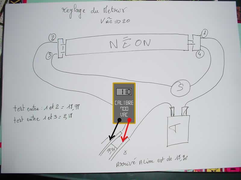 Comment tester un starter de néon