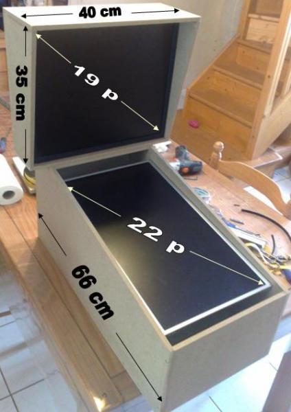 pr sentation de mon mini pincab flipperfrance. Black Bedroom Furniture Sets. Home Design Ideas