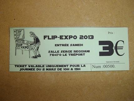 photos flip expo 2013 au treport page 2 flipperfrance. Black Bedroom Furniture Sets. Home Design Ideas